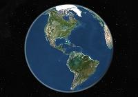 地球 衛星写真