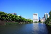 東京都 日比谷濠と有楽町方面