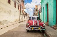 キューバ カマグエイ クラシックカー