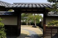 兵庫県 姫路 好古園双樹庵茶の門