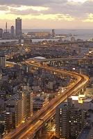 大阪ベイエリアの町並み