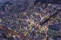 東京都 渋谷夜景