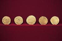 チュニジア カイルアンで出土した10世紀のコイン バルドー博物館