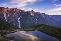 長野県 八方池より白馬連山