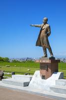 北海道 さっぽろ羊ケ丘展望台のクラーク像