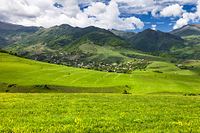 アルメニア ロリ地方 田園