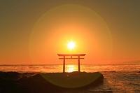 茨城県 朝日と大洗海岸