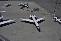 アメリカ サンフランシスコ国際空港 プライベート・ジェット