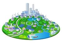 クリーンエネルギー 楕円街