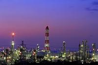 千葉県 代宿より京葉工業地帯を望む