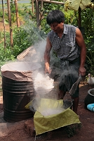 ミャンマー 酒の醸造