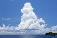 沖縄県 慶良間諸島 入道雲