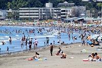 由比ケ浜海水浴場