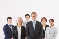 インターナショナルなビジネスチーム