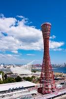 神戸港の昼景