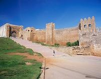 モロッコ ラバト ウダイアのカスバ