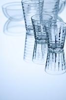 グラスとガラス製容器