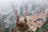 中国 上海 高層ビル