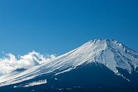 山梨県 山中湖村 山中湖 富士山