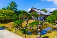 京都府 高台寺の庭園