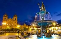 ペルー 噴水