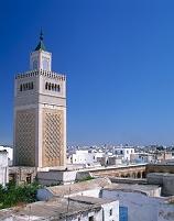 チュニジア チュニス グランドモスク ミナレット
