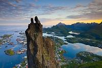 ノルウェー スボルベル 山羊の双角
