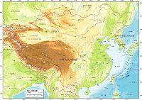 中華人民共和国 自然図