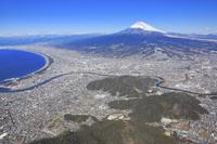 静岡県 富士山(徳倉山上空付近より)