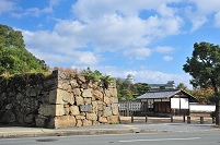 兵庫県 姫路城跡 市ノ橋門跡