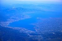 滋賀県 大津市街と琵琶湖