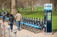 ロンドン バークレイズレンタル自転車