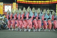 徳島県 夏の阿波踊り うずき連 女踊り