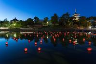 奈良県 奈良市 興福寺と猿沢池