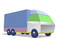 カラフルなトラック