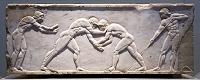 ギリシャ アテネ 葬儀のための彫刻