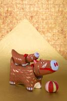島根県 干支 イノシシの民芸品 (出雲の郷土玩具)