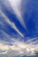長野県 焼岳から穂高岳方面と雲