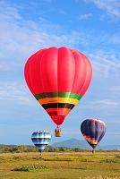 新潟県 風船一揆陣 気球
