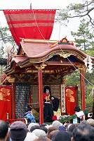 滋賀県 長浜曳山祭り子供歌舞伎
