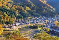 岐阜県 白川郷 展望台からの眺望