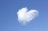 空・雲・青空・ハート型雲