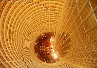 中国 ジンマオタワー  ロビー