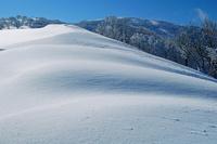 三重県 冬の鈴北岳