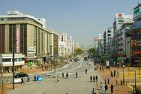姫路駅前の街並み