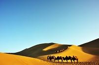 中国 敦煌の砂漠