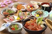 海鮮鍋と会席料理
