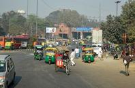 インド オールドデリーの街並み