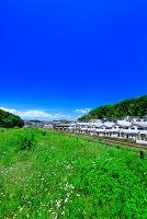 東京都 住宅と線路