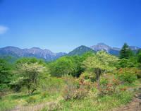 山梨県 美し森山より八ヶ岳